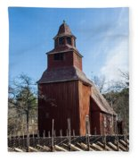 Skansen Church Fleece Blanket