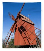 Skansen Windmill Fleece Blanket