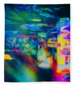 Skateboard Park Fleece Blanket