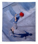 Skateboarding Fleece Blanket