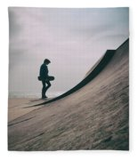 Skater Boy 006 Fleece Blanket