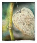Skeleton Physalis Fleece Blanket