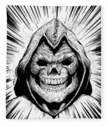 Skeletor Fleece Blanket