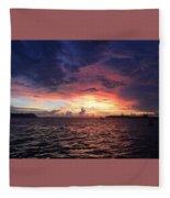 Skies Fleece Blanket