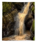 Skillet Creek Into The Deep Pool Fleece Blanket