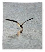Skimmer Skimming Fleece Blanket