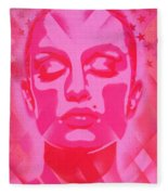 Skin Deep Series, Pinks Fleece Blanket