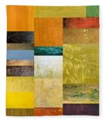 Skinny Color Study L Fleece Blanket