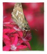 Skipper Butterfly Fleece Blanket