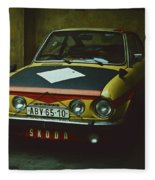 Skoda 110r Coupe Fleece Blanket