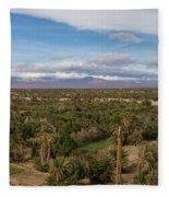 Skoura Oasis, Souss-massa-draa, Morocco Fleece Blanket