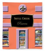 Skull Creek Pastries Fleece Blanket