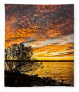 Sky Afire Fleece Blanket