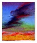 Sky Blastin Fleece Blanket