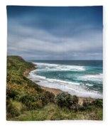 Sky Blue Coast Fleece Blanket