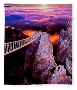 Sky Bridge Fleece Blanket