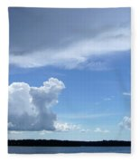 Sky Calm Fleece Blanket