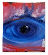 Sky Eye                                  71 Fleece Blanket