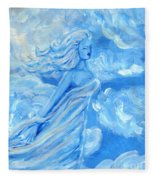 Sky Goddess Fleece Blanket