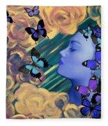 Sky Maiden Fleece Blanket