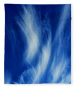 Sky Sculpting Fleece Blanket