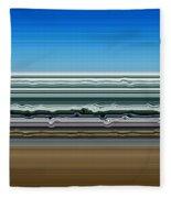 Sky Water Earth Fleece Blanket