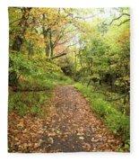 Skyline Trail P Fleece Blanket