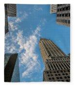 Skytops Manhattan Fleece Blanket