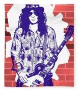 Slash Graffiti Tribute Fleece Blanket