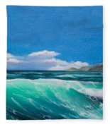 Slea Head Co Kerry Dingle Fleece Blanket
