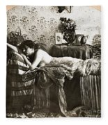 Sleeping Beauty, C1900 Fleece Blanket