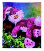 Sleeping Bunny Fleece Blanket