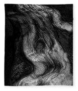 Sleeping Rocks Fleece Blanket
