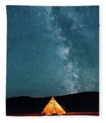 Sleeping Under The Stars Fleece Blanket
