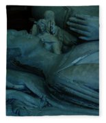 Sleeping With Angels Fleece Blanket