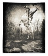 Sleepy Hollow Headless Horseman Fleece Blanket