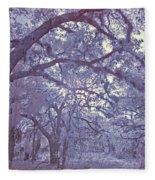 Sleepy Hollow's Muse Fleece Blanket