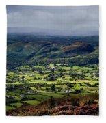 Slieve Gullion, Co. Armagh, Ireland Fleece Blanket