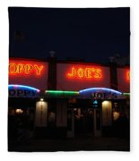 Sloppy Joes By Night Fleece Blanket