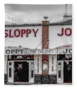 Sloppy Joe's Saloon- Key West Fleece Blanket