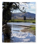 Slough Creek 1 Fleece Blanket