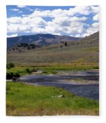 Slough Creek Angler Fleece Blanket