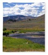 Slough Creek Angler Fleece Blanket