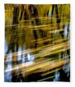 Slow Moving Stream - 2959 Fleece Blanket