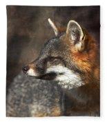 Sly As A Fox Fleece Blanket