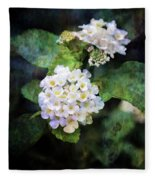 Small Blossoms 4948 Idp_2 Fleece Blanket