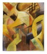 Small Composition I 1913 Fleece Blanket