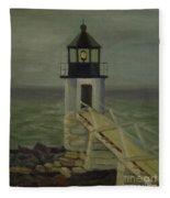 Small Lighthouse Fleece Blanket
