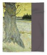 Small Pear Tree In Blossom Arles, April 1888 Vincent Van Gogh 1853  1890 Fleece Blanket