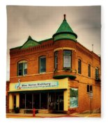 Small Town America Fleece Blanket